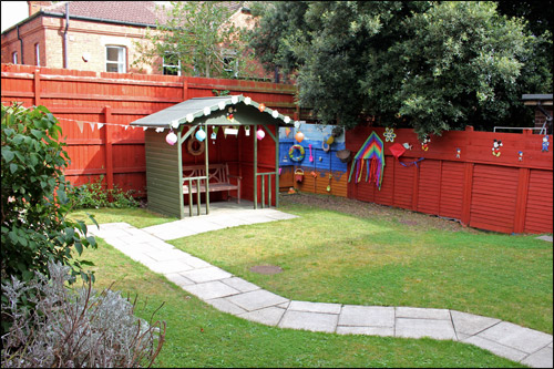The Ashdene Care Home Garden